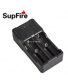 เครื่องชาร์จ USB dual-slot charger SupFire AC26 for 26650/18650 lithium battery