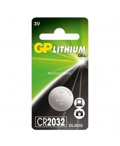 ถ่านกระดุม GP CR2032 pack 1 ก้อน คุณภาพขั้นเทพ made in japan