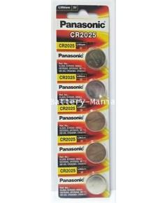 ถ่านกระดุม Panasonic CR2025 pack 5 ก้อน ของแท้ ล้านเปอร์เซนต์ ซื้อเป็น pack คุ้มกว่าเห็น ๆ