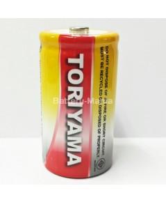 แบตเตอรี่นิเกิลแคดเมียม TORIYAMA BATTERY Ni-Cd D 5100mAh Nickel Cadmium Rechargeable Battery
