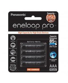 แบตเตอรี่ Panasonic Eneloop Pro 950 mAh - AAAx4 (BK-4HCCE/4BT)