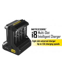 เครื่องชาร์จแบตเตอรี่ Nitecore i8 ชาร์จได้สูงสุด 8 ช่อง