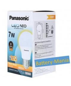 หลอด LED PANASONIC NEO 7W E27 สี Warm White ออกใบกำกับภาษีได้