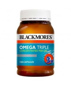 Blackmores Omega Triple Concentrated Fish Oil 150 เม็ด