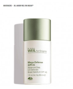 MEGA-DEFENSE ADVANCED DAILY UV DEFENDER SPF 45  ขนาด : 1.0 FL. OZ. / 30 ML