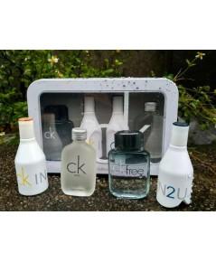 Calvin Klein Travel Edition Coffret เซตเทสเตอร์น้ำหอมกล่องเหล็กงานสวยคุ้มค่า