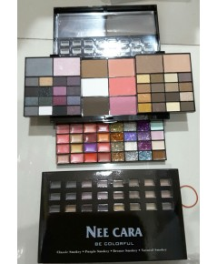 NEE CARA every colors imaginable eyeshadow palaette 96 colors ตลับสไลด์