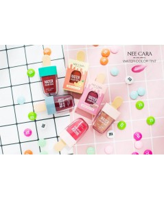 Nee cara  Water color Tint (Ice Cream) ปริมาณ 4.5g. พร้อมส่ง 6 สี