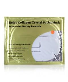 แผ่นเจลมาร์คหน้ากากเพียวคอลลาเจน Collagen Crystal Facial Mask  (1 แผ่น) BELOV สีขาว