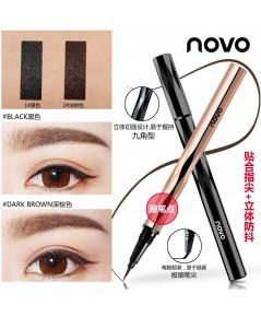 novo  eyeliner magic อายไลน์เนอร์เมจิกเขียนง่าย มี 2 สีพร้อมส่งด้ามทรงสวยจับกระชับมือ