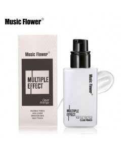 Music Flower Face Make Up Base Makeup Primer Gel Multiple Effect  ไพร์เมอร์เนื้อเจลพร้อมบำรุง