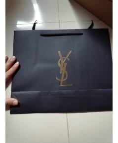 ถุงกระดาษลายแบรนด์ yvessaint lausennt ใบใหญ่ ใส่เครื่องสำอางค์ใส่ของขวัญสวยๆ