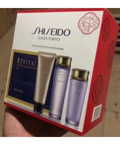 shiseido skin care products four-piece-package เซต 4 ชิ้น