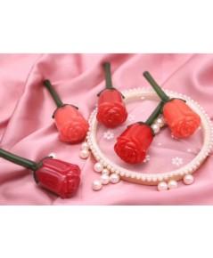 novo glam art rose lip paint ลิปเนื้อน้ำแพคเกจดอกกุหลายหรูหราน่าใช้ ของแท้