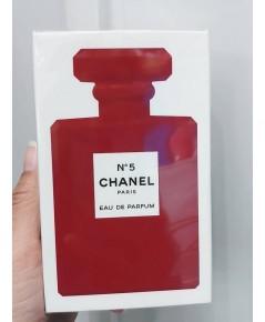 น้ำหอมหมายเลข 5 Coco Chanel No.5 ขนาด 100ml.รุ่นขวดแดงมาใหม่