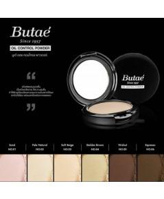 Butae\' oil control powder แป้งรองพื้นตลับดำ