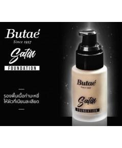 Butaé satin foundation 30ml.รองพื้นเนื้อซาติน ให้ผิวที่เนียนละเอียด