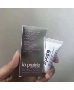 LA PRAIRIE Essence of Skin Caviar Eye Complex with Caviar Extracts 5 ml.ขนาดทดลองพกพาสะดวก