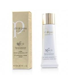 cle de peau beaute uv protective cream tinted spf50 pa++++ กันแดดมีสี ivory ขนาด 30 ml.