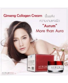 ครีมอั้ม พัชราภา ของแท้จากบริษัท Aurum Ginseng Collagen Cream 50g.