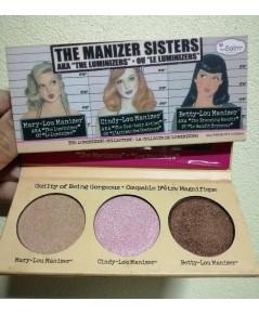 The Balm The Manizer Sisters  11.3g. รวม 3 สีในพาเลทเดียวพกง่ายๆเก๋ๆ (ขนาด 3.0 g.)