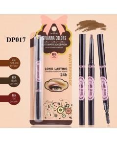 sivanna colors automatic eyebrow dp017 ดินสอเขียนคิ้วหมุนออโต้ พร้อมแปรงหัดคิ้วให้เรียงตัวสวย