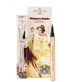 Gina Glam Princess \'s Scepter waterproof laxury eyeliner G14 อายไลเนอร์ เส้นคมชัด หัวฟองน้ำนุ่ม