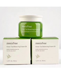 Innisfree Green Tea Balancing Cream EX 50ml. รุ่นใหม่ ผิวเนียนเรียบ เปล่งปลั่งสดใส
