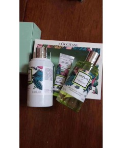 L\'Occitane Fragrance Bath  Body 3 Piece Collection ชุดอาบน้ำบำรุงผิวตัวและมือกลิ่น Herbae