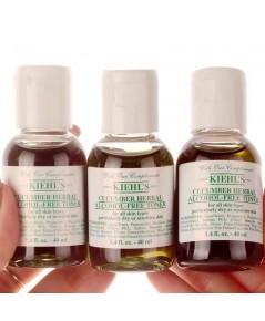KIEHL\'S โทนเนอร์ Cucumber Herbal Alcohol-Free Toner ขนาดทดลองพกพา 40 มล.โทนเนอร์แตงกวา