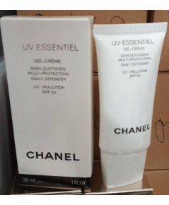 Chanel UV Essentiel Gel - Creme SPF 50 / ขนาด 30 ml.กันแดดเนื้อเจลครีมเบาสบายผิว