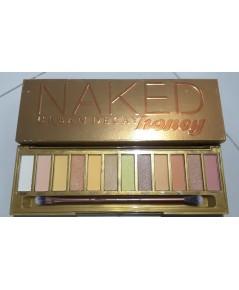 Naked Honey Eyeshadow Palette สมาชิกใหม่ล่าสุดในตระกูล Naked พาเลตต์โทนสีน้ำผึ้ง ภาพโชว์ถ่ายจากสินค้