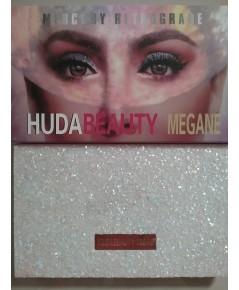 อายแชโดว์ HUDA MEGANE eyeshadow Palette   18 เฉดสี ใช้ได้ทุกสีทุกวันเลย