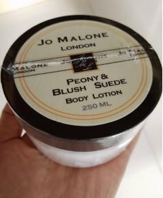 ครีมน้ำหอม JO MALONE LONDON Peony  Blush Suede cologne Body Lotion 250ml. ครีมบำรุงผิวกายกระปุกใหญ่เ