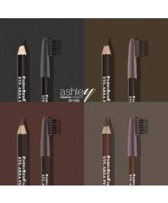 ดินสอเขียนคิ้ว Ashley  Eyebrow Pencil ยกแพคสีต่อโหล กันน้ำพร้อมแปรงปัดรุ่นคลาสสิค ขายดี