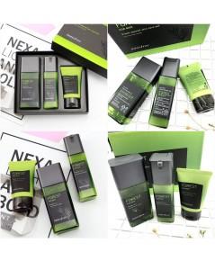Innisfree Forest for men Fresh special skin care set ชุดบำรุงผิวสำหรับผู้ชาย 3 ชิ้นสีเขียว