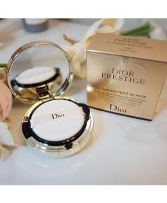 DIOR Prestige Le Cushion Teint De Rose SPF 50 - PA+++คูชั่นดิออร์ไซค์ตลับกระจก เบอร์พร้อมส่ง 010