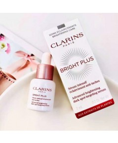 CLARINS  เซรั่ม Bright Plus Advance brightening dark spot - targeting serum ขนาด 7ml. ขวดทดลอง
