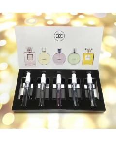 น้ำหอมเทสเตอร์เซต Chanel- Les Parfums Set  แพคเกจแบบหลอดขนาด 5 ml. x5 (ขวดสเปรย์)