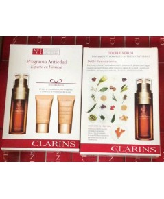 Clarins Double Serum  Extra-Firming Collection set บำรุงผิว 3ชิ้น จาก clarins