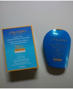 กันแดดหน้าและตัว SHISEIDO Expert Sun Aging Protection Lotion WetForce For Face  BodySize 100 ml.