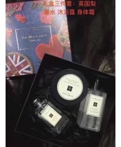 Jo malone English Pear  Freesia Set 3 pcs.Jo Malone London for women ชุดของขวัญ 3 ชิ้น