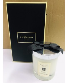 JO MALONE LONDON Wood Sage  Sea Salt  Home Candle 600G. เทียนหอมในโหลแก้วสวยเรียบหรู (มีถุงแถม)