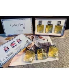 Lancome La Vie Est Belle Parfum Set for Women With น้ำหอมเทสเตอร์หัวฉีด 30ml.x3 ชิ้น