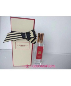 Jo malone English Pear  Freesia Jo Malone London for women 30ml. งานพร้อมกล่อง (ขวดแดง)
