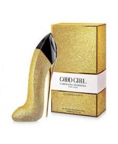 น้ำหอมผู้หญิงCarolina Herrera Good Girl Glorious Gold EDP 80ml. รองเท้าสีทองวิ้งค์วั๊ง
