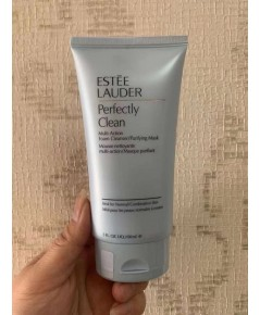 ESTĒE LAUDER  โฟมล้างหน้า Perfectly Clean Multi-Action Foam Cleanser/Purifying Mask ขนาด 100 มล.