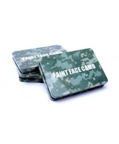 สีพรางหน้าทหาร,แบบตลับ,face paint camouflage