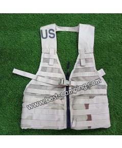 เสื้อ Vest US Military MOLLE II Tactical Fighting Load Carrier with Zipper