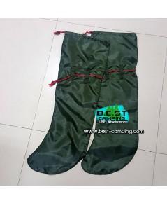 ถุงกันทากสีเขียว,ุถุงเท้ากันทากเกาะ